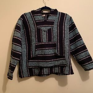 "⭐️10/$25 ""Drug Rug"" Boho Hippie Hooded Sweater 